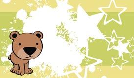 Teddy bear baby cute cartoon background Stock Photography