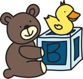 Teddy Bear Baby Stock Photography