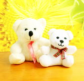 Teddy bear baby with mother Royalty Free Stock Photo