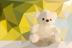 Teddy Bear bas poly Image libre de droits