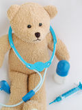 Teddy bear being a doctor Stock Photography