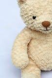 Teddy bear on blue background Royalty Free Stock Photos
