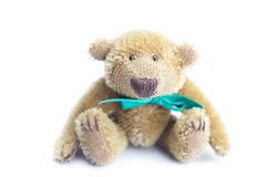 Teddy Bear with bow Stock Images