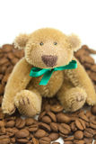 Teddy Bear with bow Royalty Free Stock Image