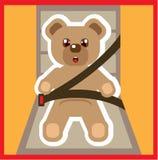 Teddy Bear buckle Up Vector Stock Image