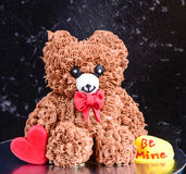 Teddy Bear cake Royalty Free Stock Photo