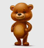 Teddy bear. Character bear cub offspring childhood soft love Stock Images