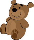 Teddy Bear Children's Illustration Royalty Free Stock Photos