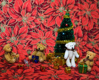 Teddy Bear Christmas Royalty Free Stock Photography