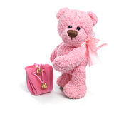 Teddy bear in classic vintage style Stock Image