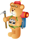 Teddy Bear Climber Royalty Free Stock Images