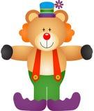 Teddy Bear Clown illustrazione vettoriale