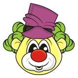 Teddy bear clown Stock Image