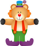 Teddy Bear Clown Stock Photography