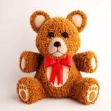 Teddy Bear 3d illustration. Over white background Stock Image