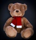 Teddy bear on a dark background Stock Photos