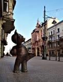 Teddy Bear de Lodz Imagen de archivo libre de regalías