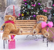 Teddy bear decoration Stock Images