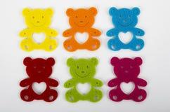 Teddy bear decorations Royalty Free Stock Photos
