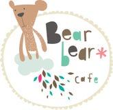 Teddy bear design Royalty Free Stock Photos