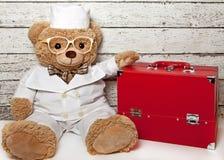 Teddy bear doctor Stock Photos