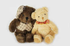 Teddy bear doll Royalty Free Stock Images