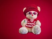 Teddy Bear em um humor insolente Fotografia de Stock Royalty Free