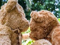 Teddy Bear en amor Imagenes de archivo