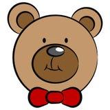 Teddy Bear Face illustration libre de droits