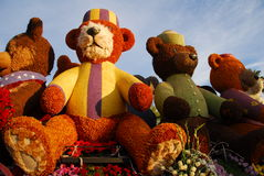 Teddy Bear Float at the 122nd tournament of roses Stock Photo