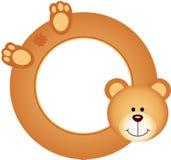 Teddy bear frame Stock Photography