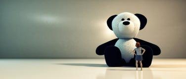 Teddy Bear Friend illustration libre de droits