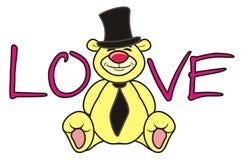 Teddy bear groom Royalty Free Stock Photography