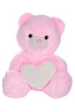 Teddy bear with heart shape Royalty Free Stock Photo