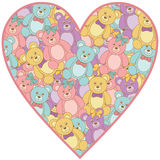 Teddy bear heart Royalty Free Stock Photo