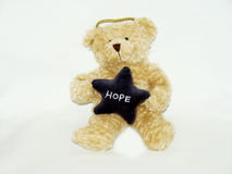 Teddy bear with hope Royalty Free Stock Photos
