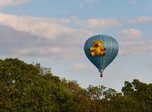 Teddy Bear Hot Air Balloon Stockfotos