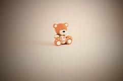 Teddy Bear ich liebe dich Lizenzfreies Stockbild