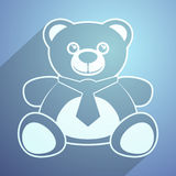 Teddy bear icon Royalty Free Stock Image