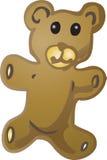 Teddy bear illustration Stock Image