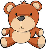 Teddy Bear Illustration Royalty Free Stock Images