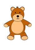 Teddy Bear Illustration Royalty Free Stock Photography