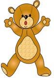 Teddy bear illustration. Illustration of teddy bear isolated Royalty Free Stock Image
