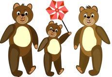 Teddy bear illustration. Stock Images