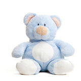 Teddy bear . Isolated over white. Royalty Free Stock Photo