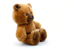 Teddy bear isolated on white background Royalty Free Stock Photos