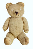 Teddy Bear Jouet fabriqué à la main de vintage, vers 1950 Images stock