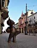 Teddy Bear from Lodz. Royalty Free Stock Image