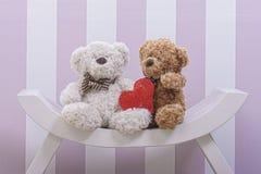 Teddy Bear Love Fotografie Stock Libere da Diritti