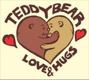 Teddy Bear Love imagens de stock royalty free
